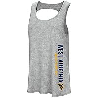Women's Colosseum West Virginia Mountaineers Twisted Back Tank Top