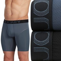 Men's Jockey 2-pack Athletic RapidCool™ Microfiber Stretch Boxer Briefs