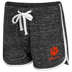 Women's Colosseum Clemson Tigers Gym Shorts