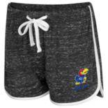 Women's Colosseum Kansas Jayhawks Gym Shorts