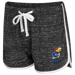 Women's Colosseum Kansas Jayhawks Gym Shorts