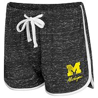 Women's Colosseum Michigan Wolverines Gym Shorts