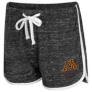 Women's Colosseum Minnesota Golden Gophers Gym Shorts
