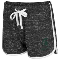 Women's Colosseum Michigan State Spartans Gym Shorts
