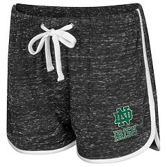 Women's Colosseum Notre Dame Fighting Irish Gym Shorts