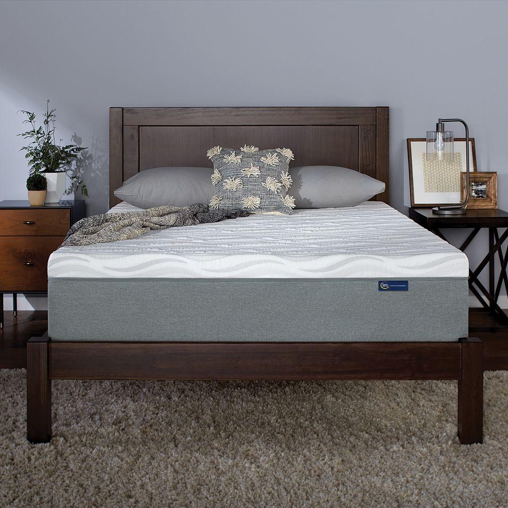serta 9 inch memory foam mattress in a box - Mattress In A Box