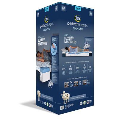 Serta 14-inch Perfect Sleeper Memory Foam Mattress In A Box