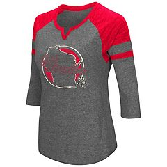 Women's Colosseum Wisconsin Badgers Tee