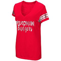 Women's Colosseum Wisconsin Badgers Karate Tee