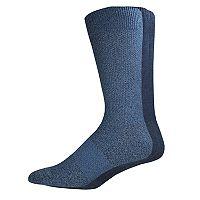 Men's Dockers 3-pack Textured Stretch Crew Socks