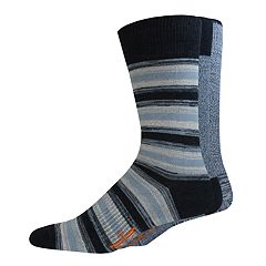 Men's Dockers 3-pack Solid & Patterned Stretch Crew Socks