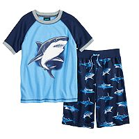 Boys 8-20 Jelli Fish Print 2 pc Pajama Set