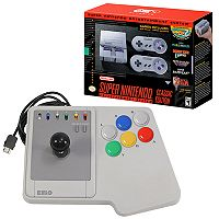 Super Nintendo Classic Edition Entertainment System with Interworks Joystick