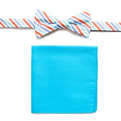 Men's Croft & Barrow® Bow Tie Pocket Square Set bow tie and pocket square set.