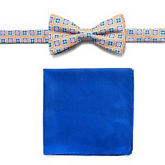 Men's Croft & Barrow® Bow Tie Pocket Square Set bow tie and pocket square set.