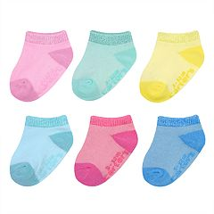 Baby Girl Carter's 6-pack No-Show Socks