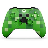 Microsoft Xbox One Minecraft Creeper Wireless Controller