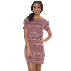 Women's SONOMA Goods for Life™ Ruffle T-Shirt Dress