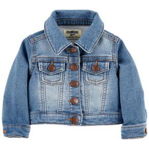 Baby Boy OshKosh B'gosh® Knit Denim Jacket