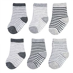 Baby Carter's 6-pack Striped Crew Socks