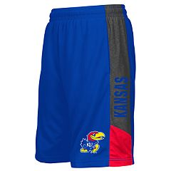 Boys 8-20 Colosseum Kansas Jayhawks Shorts