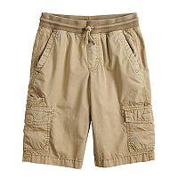 Boys 8-20 Urban Pipeline Knit Waistband Cargo Shorts