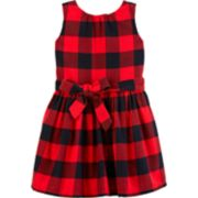 Toddler Girl Carter's Plaid Flannel Dress