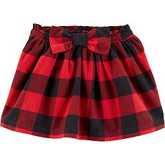 Toddler Girl Carter's Buffalo Check Plaid Skirt