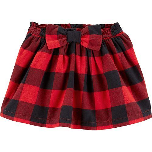bad9dcca32 Toddler Girl Carter's Buffalo Check Plaid Skirt