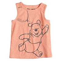 Disney's Winnie the Pooh Baby Boy Heathered Graphic Tank Top by Jumping Beans®