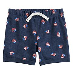 Toddler Boy Jumping Beans® Flag Knit Shorts