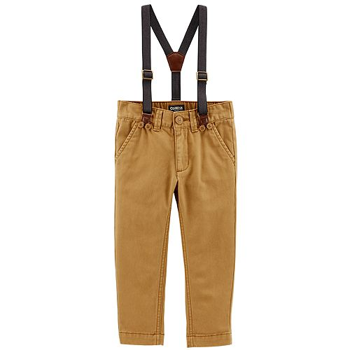 Baby Boy OshKosh B'gosh® Suspender Pants