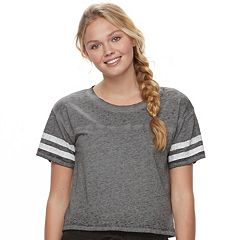 Juniors' SO® Sporty Crewneck Tee