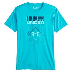 Boys 8-20 Under Armour  Rippled Duo Logo Tee