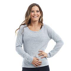 Women's Balance Collection Bailey Open Back Long Sleeve Tee