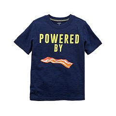 Boys 4-8 Carter's 'Powered By Bacon' Graphic Tee
