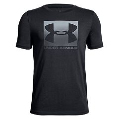 Boys 8-20 Under Armour Box Logo Tee