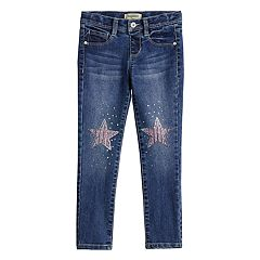 Girls 4-12 SONOMA Goods for Life™ Sequined Star Jeggings