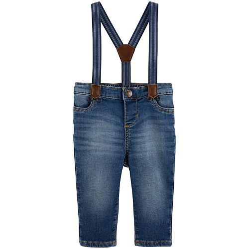 Baby Boy OshKosh B'gosh® Denim  Suspender Jeans