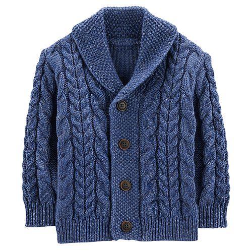 2f2d9274b622 Baby Boy OshKosh B gosh® Cable Knit Shawl Cardigan
