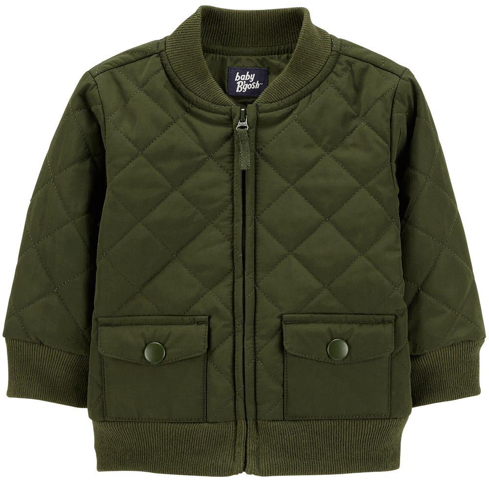 Baby Boy OshKosh B'gosh® Quilted Bomber Lightweight Jacket