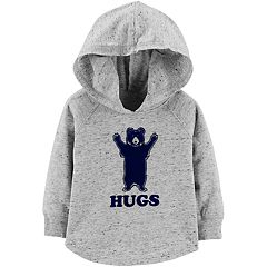 Baby Boy OshKosh B'gosh® Bear Applique 'Hugs' Pullover Hoodie
