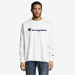 Men's Champion Chest-Logo Tee