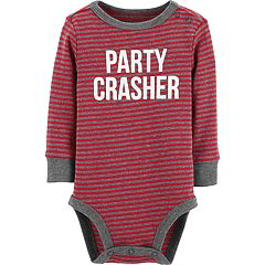 Baby Boy OshKosh B'gosh® 'Party Crasher' Striped Bodysuit
