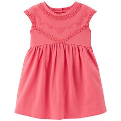 Baby Girl Carter's Embroidered Babydoll Dress
