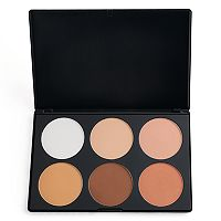 BH Cosmetics Contour & Blush 2 Matte 6-Color Palette