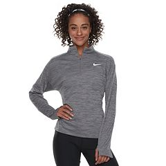 Women's Nike Pacer Long Sleeve 1/2-Zip Running Top