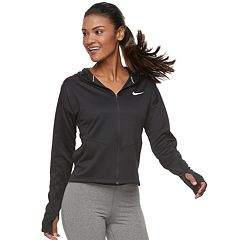 Women's Nike Pacer Full-Zip Thumb-Hole Running Top