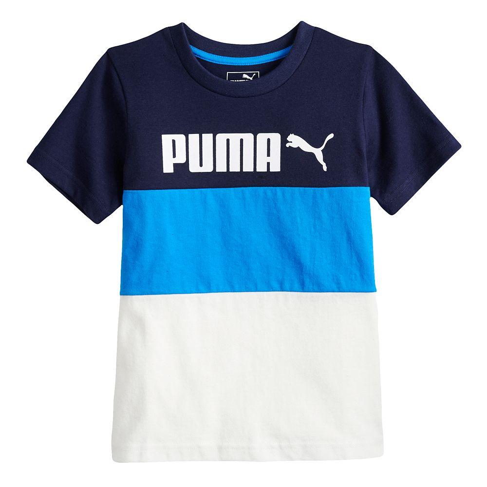 Boys 4-7 PUMA Colorblock Tee