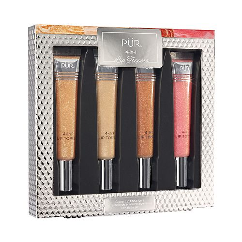PUR 4-in-1 Lip Toppers Glittery Lip Gloss
